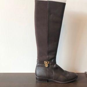 Like new! Michael Kors Brown Hamilton Boot